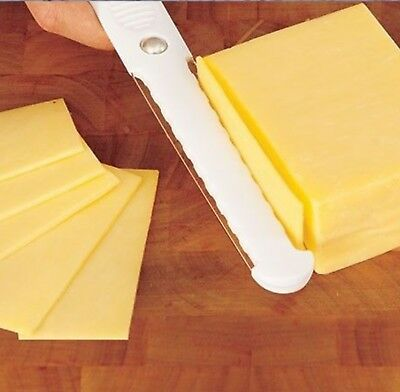 Cheese Slicer Thick & Thin Slices Double Sided Fast Hard Soft Cutter Butter Egg ()