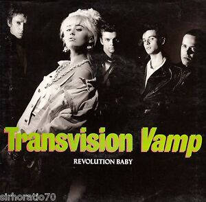 TRANSVISION-VAMP-Revolution-Baby-Honey-Long-Lonely-Weekend-1988-OZ-45