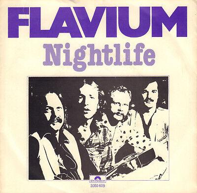 FLAVIUM - Nightlife (1979 VINYL SINGLE 7