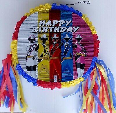 ~ Birthday Party  Game ..FREE SHIPPING (Power Ranger Pinata)