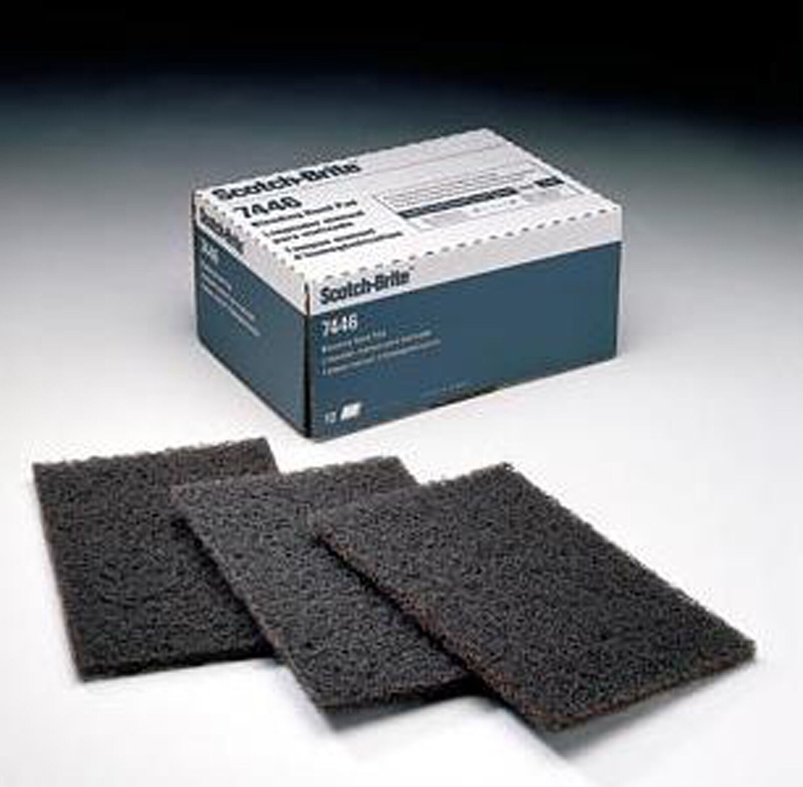 """20 pads 04051 3M Scotch-Brite Surface Conditioning Blending Hand Pads 6/"""" x 9/"""""""