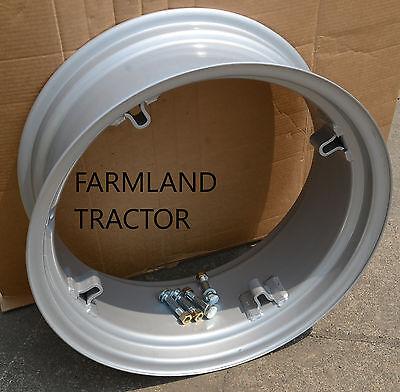 Sba336120320 10 X 24 Rear Wheel Rim 4 Loop For Ford W4 Nuts Bolts