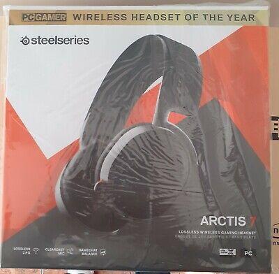Gaming Wireless SteelSeries Arctis 7 DTS Black