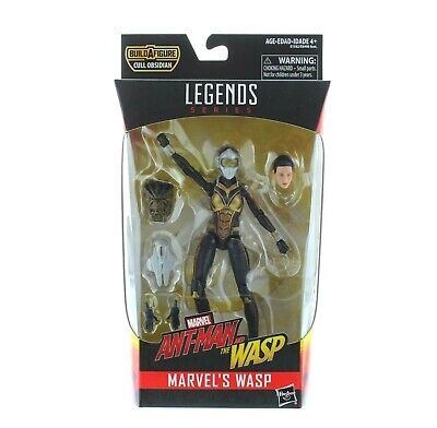 "Marvel Legends Wasp Action Figure  6"" Poseable Toy with Cull Obsidian Head"