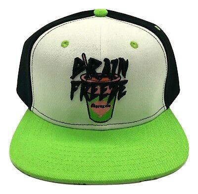Billionaire Boys Club BB SnapBack Ice Cream Hat Brain Freeze BBC Skull Authentic - Brain Hats