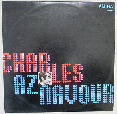 CHARLES AZNAVOUR VINYL 12 AMIGA 850119