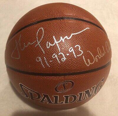188a574c60c Chicago Bulls John Paxson Signed Auto NBA Basketball 91 92 93 WORLD CHAMPS  Proof