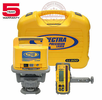 New Spectra Precision Ll500 Hl700 Rotary Laser Level Transit Laserplane