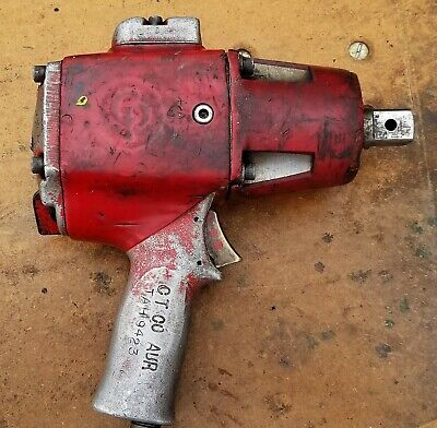 Vintage Chicago Pneumatic Impact Wrench Working Condition B6f1