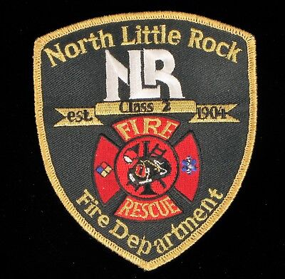 City Of North Little Rock (FIRE DEPARTMENT PATCH CITY OF NORTH LITTLE ROCK ARKANSAS RESCUE EMS NLRFD)