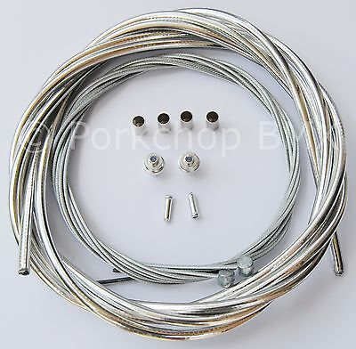 """High Quality Authentic Vintage NOS Braided 11/"""" Bicycle Cable Housing Sheath"""