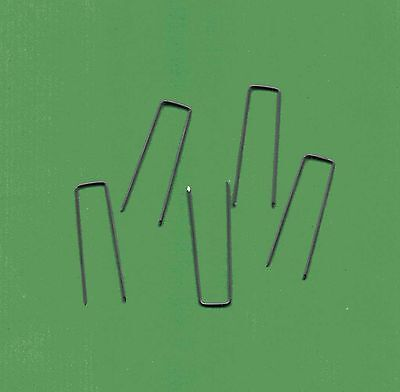 Efeunadeln, Römerhaften, Krampen, 10 x 40 mm, 75 g, ca.105 Stück