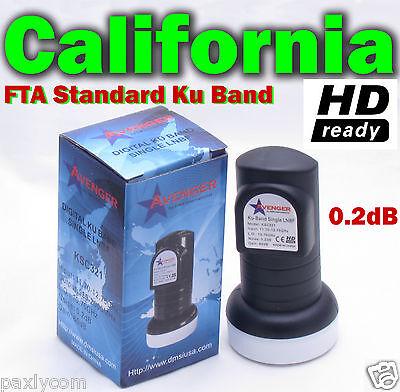 New Single Standard Linear Ku Band LNBF 0.2dB FTA Satellite Dish LNB