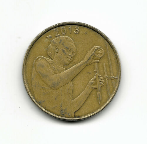 World Coins - West African States 25 Francs 2013 FAO Comm. Coin KM# 9 ; Lot-W2