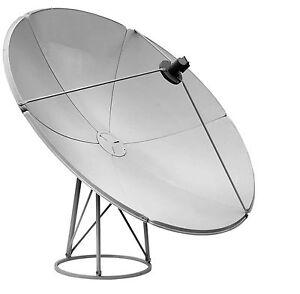 1.8m Satellite Dish 180cm KU Band UK Europe Nilesat Arabsat Spain Italy Bulsat