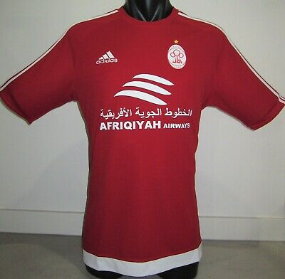 Al-Ittihad Tripoli LIBYA Adidas #10 Home 2017-18 Football Shirt Jersey Soccer L image