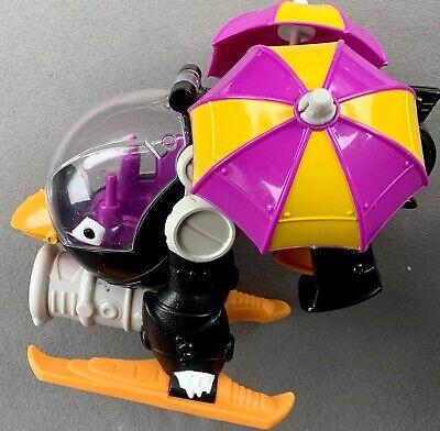 Batman PENGUIN COPTER Helicopter 2014 DC Super Friends Fisher Price Imaginext