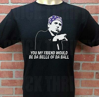 THE OFFICE, TV SHOW, MICHAEL SCOTT ***PRISON MIKE*** T-SHIRT