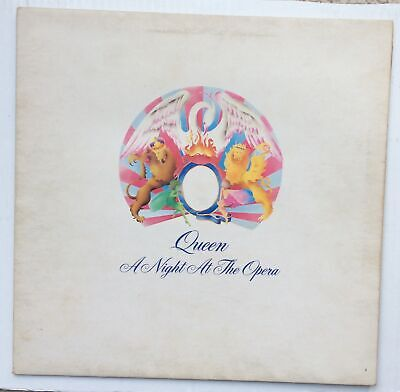 Queen A Night At The Opera Embossed Gatefold sleeve+ die-cut inner  UK LP comprar usado  Enviando para Brazil