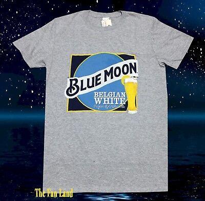 New Blue Moon Label Beer Vintage Mens T-Shirt