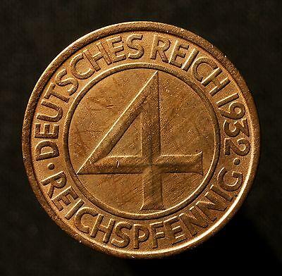 4 Pfennig 1932 J