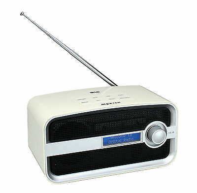 DAB & FM Alarm Clock Radio With Bluetooth A2DP - 6 Months Warranty