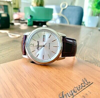 Ingersoll Mens New Haven Automatic Watch - I00501 Pre-Owned Excellent Cond.