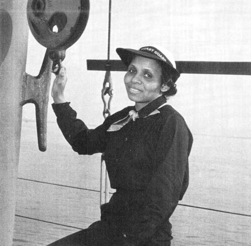 Olivia Hooker-First African American Woman Admitted to US Coast Guard 8x10 Photo
