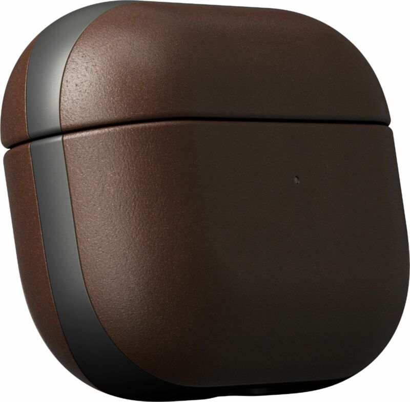 Nomad - Rugged Case for AirPods Pro - brown