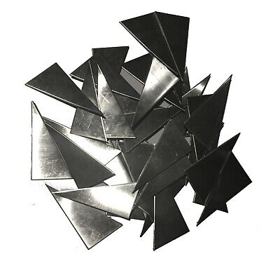 Weld Gusset 304 Stainless Steel 30pcs 1 X 2 18ga Triangle Plate Metal Sheet