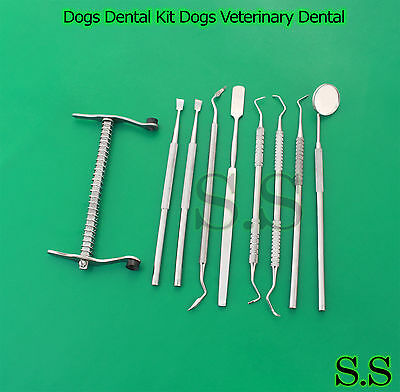 Dogs Dental Kit Dogs Veterinary Dental Tartar Removal Dogs Mouth Gags S.s-631