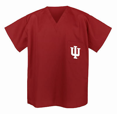 Indiana University Scrubs Tops Scrub Shirt BEST IU GIFTS for Men or