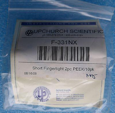 Upchurch F-331nx Nanotight Nuts 10-32 Wf-142n Ferrule Natural Peek