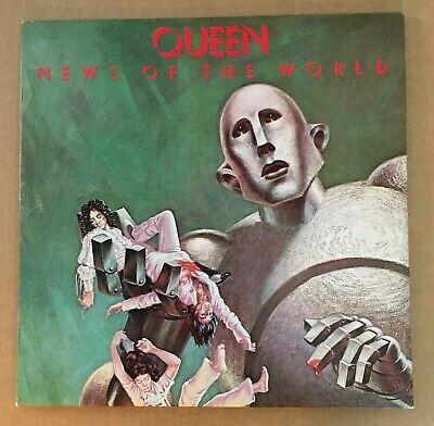 QUEEN ~ News of the World ~ UK EMI EMA 784 -1/-2 NEAR MINT LP