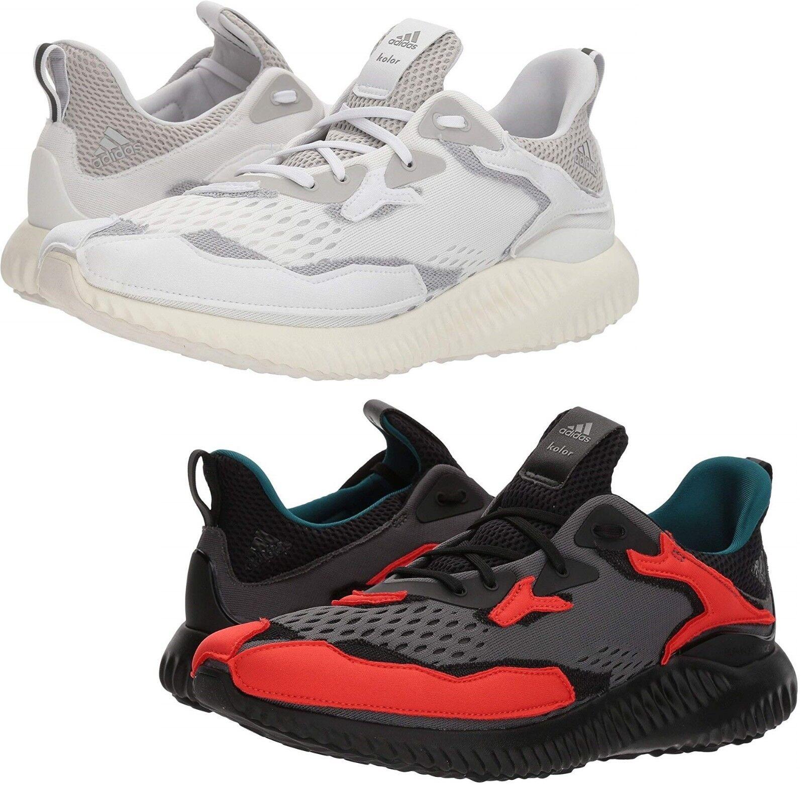 sports shoes d2afc ff44b adidas x Kolor Men's alphabounce Running Sneaker Shoes