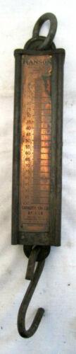 Vintage Hanson Viking Game Scale Model No. 8910 Copper Face Balance Scale 100 lb