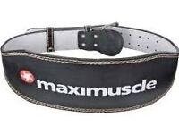 Maximuscle weight lifting belt, hardly used £15