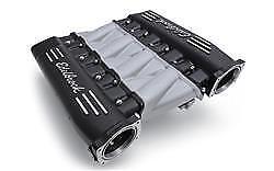Fuel Injected Intake Manifold - Edelbrock 71413 SBC Cross-Ram Intake Manifold LS3 Fuel Injected Black