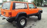1987 Jeep Cherokee Camionnette