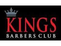 Kings Barbers Club - Full time position