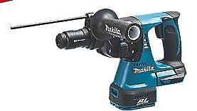 Makita 18V Cordless SDS-Plus Brushless 3 Mode Rotary Hammer Drill Body Only DHR242Z