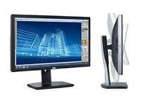 """DELL U2413 24"""" MONITOR VGC HIGH SPEC 1920×1200 HDMI USB 3 1.2 Mini Display DVI-D LAPTOP PC NEW £275!"""