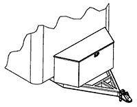 TRAILER ALUMINUM A-FRAME / TONGUE BOX - CLENTEC London Ontario image 3