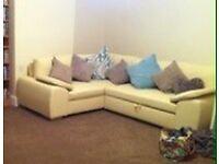 Corner Sofa/ Bed