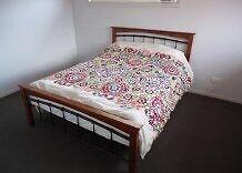 Queen Bed Frame & mattress