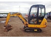 micro digger or mini digger wanted any condition