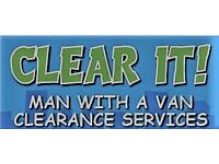 Rubbish Clearance ¦ Junk Removal ¦ Waste Disposal by CLEAR IT you name it, we CLEAR IT!