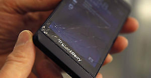 BlackBerry Z10 screen replacements Black / White  -$75 installed