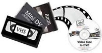 BRING BACK OLD 8MM AND VHS TO DVD TRANSFER SERVICE