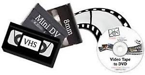 BRING BACK OLD 8MM AND VHS TO DVD TRANSFER SERVICE Windsor Region Ontario image 1